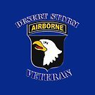 101st Airborne Desert Storm Veteran - iPad Case by Buckwhite