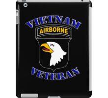 101st Airborne Vietnam Veteran -  iPad Case iPad Case/Skin