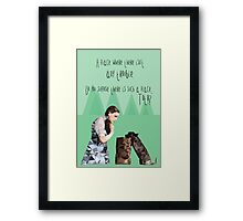 Dorothy and Toto's Place Framed Print