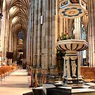 Canterbury Cathedral - The Font by rsangsterkelly