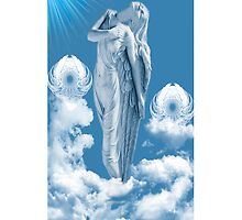 ????? ANGEL STEPS WALKING IN CLOUDS IPHONE CASE ????? by ✿✿ Bonita ✿✿ ђєℓℓσ