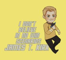 James T. Kirk by Littleartbot