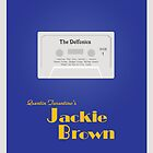 Original Jackie Brown Minimalist Movie Poster by Dan Koskie