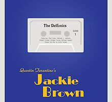 Original Jackie Brown Minimalist Movie Poster by deeceethered