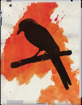 Dark Wings, Dark Words. by ayarti