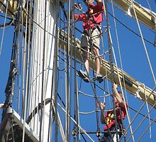 Leeuwin Rigging by kalaryder