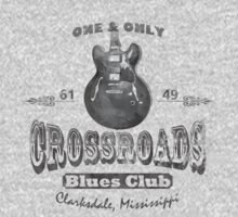 Black Crossroads Blues Club by OnionSkin
