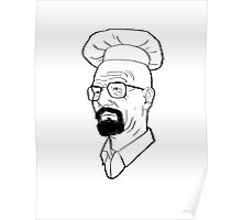 Breaking Bad - Kiss The Cook Poster