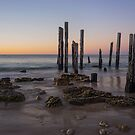 The old willunga jetty by Anthony Byron