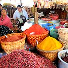 Market in Mandalay Burma/ Myanmar  by Peter Voerman