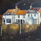 Cowbar Cottages, Staithes by Sue Nichol