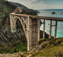 Bixby Bridge by GeorgeBuxbaum