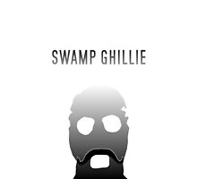 'Swamp Ghillie' iDevice case by Enderoman