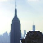 Rockefeller Centre View of Empire State  by copacic
