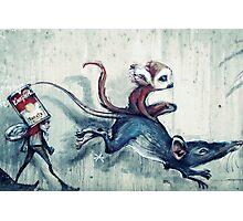 Rat race Photographic Print