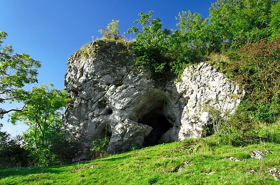 Wetton Mill Caves by Rod Johnson