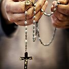 rosary.. by Michelle McMahon