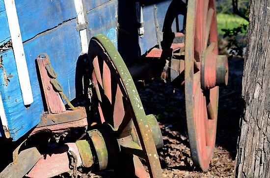 Broken Down Wagon by imagetj