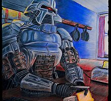 Toasters make Toast - Cylon Print by jahill20