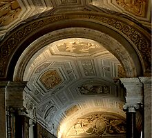 Vatican City Hallway Ceiling by Thomas Barker-Detwiler