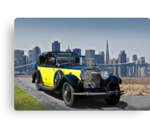 1930 Rolls-Royce Phantom II Canvas Print