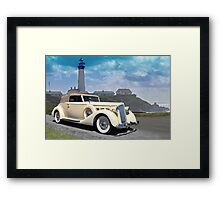 1935 Packard, Victoria Convertible Coupe Framed Print