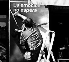 La Emocíon no Espera by Berns