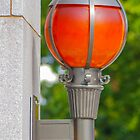 Study of Orange Orbs at Arlington Cemetry (1 of 3) by Kurt LaRue