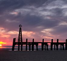 Ribbles Remnants at Lytham by Chris Frost Photography