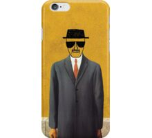 Magritte - Son of Man Parody iPhone Case/Skin