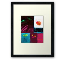 Picnic with you Framed Print