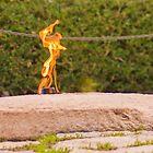 Study of the Eternal Flame (4 of 4) by Kurt LaRue