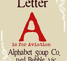Letter A Placeholder by Bevlea Ross