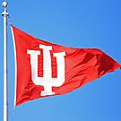 Indiana University Flag by indiana9495