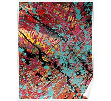 Number 100 Abstract by Mark Compton Poster