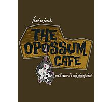 The Opossum Cafe Photographic Print