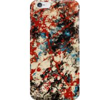 Number 102 Abstract by Mark Compton iPhone Case/Skin