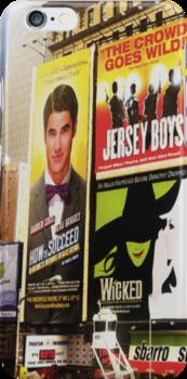 Darren in Times Square by msciaranoelle