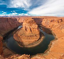 Horseshoe Bend - Navajo Land by Karen Willshaw