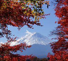 Mount Fuji in Autumn by kianhwee