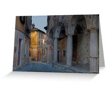 Cannobio - Italy Greeting Card