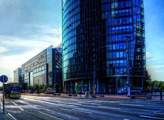 modern architecture of berlin by Alexander Drum