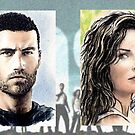 """Lost"" sketchcards by wu-wei"