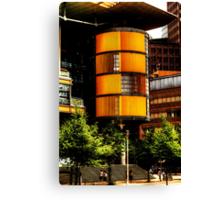 modern architecture of berlin Canvas Print