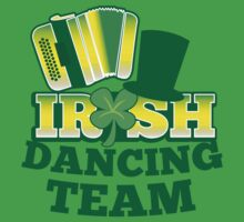 Irish Dancing Team with top hat and accordion by jazzydevil