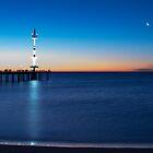 Brighton Beach Sunset Pt3 by Madelaine Bleckly