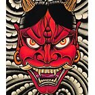 Red Hannya by MikeFrench