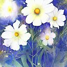 White Cosmos (Purity) by Jacki Stokes