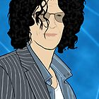 Howard Stern Portrait by nealcampbell