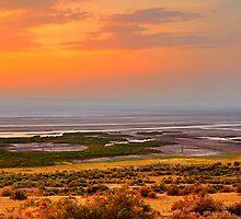 Albert Lake Sunset by SB  Sullivan